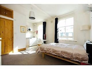 Fantastic Spacious Studio Flat With Wifi Near Shops & Station.5 mins to King's Cross.Bills Inclusive