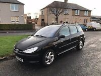 peugeot 206 2l turbo hdi.price reduced to encourage quick sale.