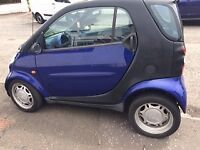 REDUCED - BARGAIN - LEFT HAND DRIVE, SMART CAR CITY PASSION 600cc, 7 MNTHS MOT - VERY GOOD CONDITION