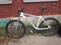 White Specialized M4 Stumperjumper Mint Cond. Very Nego.