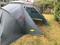 Khyam Galaxy Tent, 6 berth easy erect dome tent, family sized