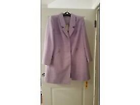 ladies dress coat size 22... from jd Williams... cost £80 never worn As new with tags