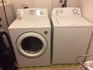 Amana washer LG dryer
