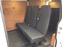 2014 Ford Transit Custom Triple Rear Bench
