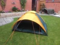 2 man tent immaculate