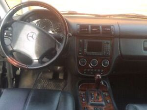 2004 Mercedes-Benz M-Class sport SUV, Crossover
