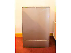 Vertical fireproof drawing cabinet, 2 prong, A0, 1430x920x430 mm, grey