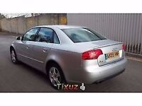 Audi a4 2.0 TDI BMM Engine breaking silver same parts as a6 subwoofer doors dash boot alloys