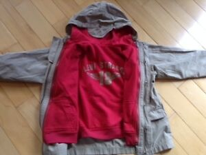 Boys size 6 and 6x hoody and 3 in 1 jacket $14 for both London Ontario image 3