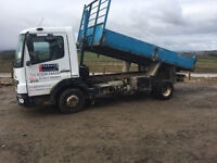 MERCEDES TIPPER 7.5 TON - 2008 Reg - £9000 inc VAT