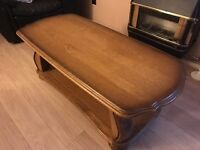 Good Quality Heavy Coffee Table- Nice Condition