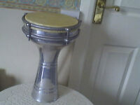 Retro Metal Turkish Darbuka Drum