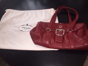PRADA authentic handbag  with dust bag and certificates!
