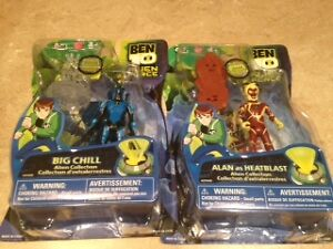 Ben 10 Action figures still in package