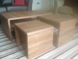 Next TV stand and Nest of tables