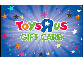 2 GIFT CARDS TOYS R US (TOYSRUS) - 2X £20 FOR £35