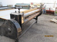 7' Slitter and Guillotine Cutter