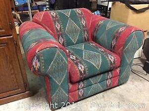 Chair - Western - Very little wear - Like new from a new build cottage in Muskoka