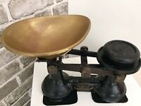 Vintage cast iron (The Viking) weighing scales