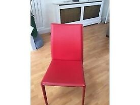 OKA Red Chairs