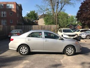 2010 Corolla in Excellent Condition. Garage Stored, Lady Driven.
