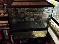 vivarium and Accesories for reptile