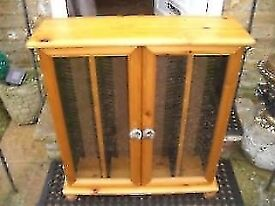 WOODEN CD CABINET - CLACTON CO15 - FREE DELIVERY TO CO15 OR CO16