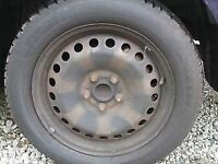 """FORD MONDEO,FOCUS AND GALAXY 16"""" 5 STUD WHEEL. WITH TYRE"""
