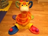 Sit to Stand Fisher Price Ball Run Toy