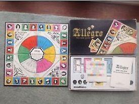 Allegro The Music Board Game