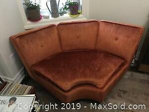Vintage Single Couch