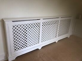 Victorian style radiator cover