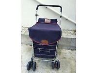 SHOLLEY Shopping Trolley - Good Condition