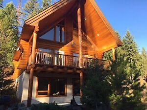 Fully Furnished Log Cabin in Kimberley, BC