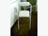 perching stool brand new never used cost £35 sell for £15 call after 5 pm no texts no withheld numb