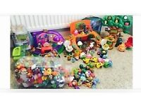 Moshi Monsters. A HUGE selection of themed Moshi Monster figures and accessories