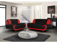 Palmerro, retro design sofas.... 3+2 seater sofa set or corner sofa in a choice of 4 colours