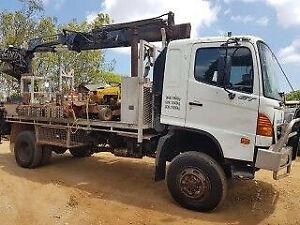 Wrecking 2006 Hino GT1J 4WD crane truck (Stock #T0712) Mareeba Tablelands Preview
