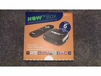 NOW TV BOX WITH 6 MONTHS ENTERTAINMENT PASS (New and Sealed)