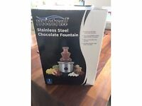 Chocolate fountain used once