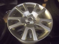 """MGF MGTF 15"""" VEE SPOKE ALLOY WHEELS AND TYRES NEW"""
