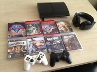 PS3 - Console - Games - Headset