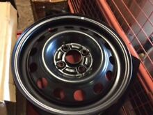 Mitsubishi Lancer genuine factor steel rim J14x5.5JJ new part Rosewood Ipswich City Preview
