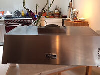 FALCON XT STAINLESS STEEL 90 CMS CHIMNEY/COOKER HOOD