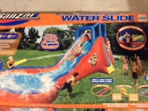 Double Cannon Blast Water Slide