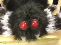 Giant Posable Spider - Perfect For Halloween/Theme Party Decoration.