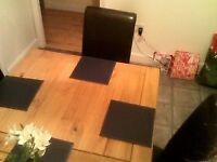 Corona Pine Dining / Kitchen Table very new Solid Mexican type pine