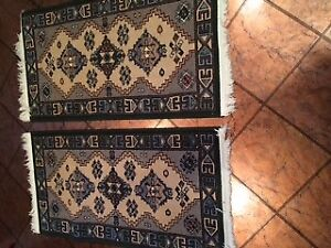 2 Carpet Runners - 23 by 44 inches