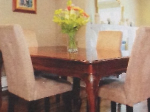 dining room antique table and chairs dining room set $240.00