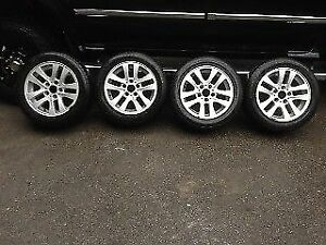 BMW Bridgestone Blizzak Run Flats Wheels and Tires